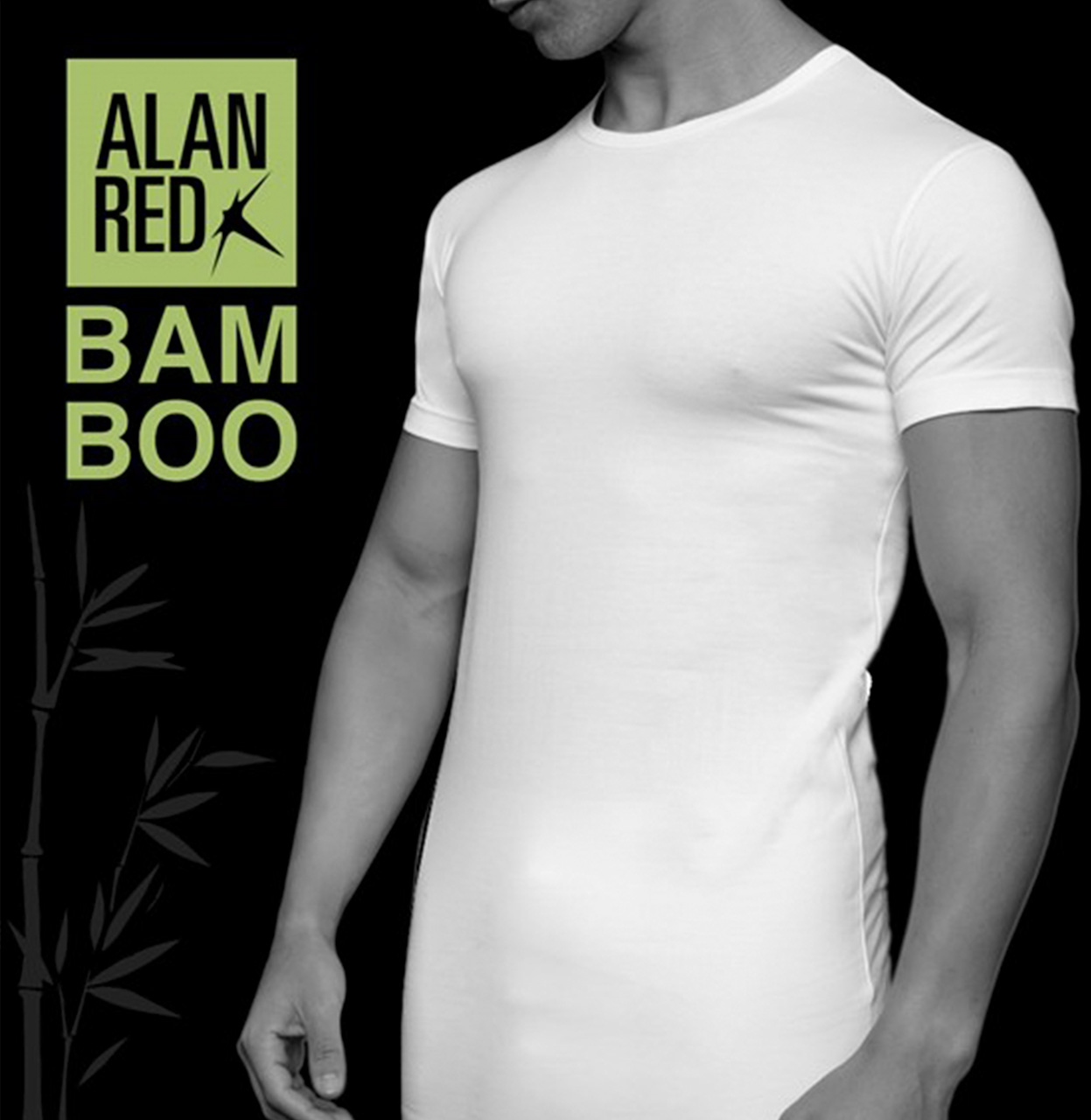 Alan Red T-shirt BILBAO white BILBAO wit Maat M