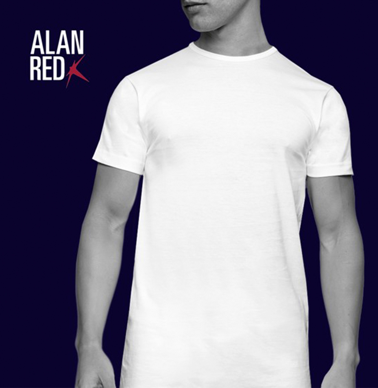 Alan Red T-shirt DERBY 2-PACK DERBY 2-PACK wit Maat XL