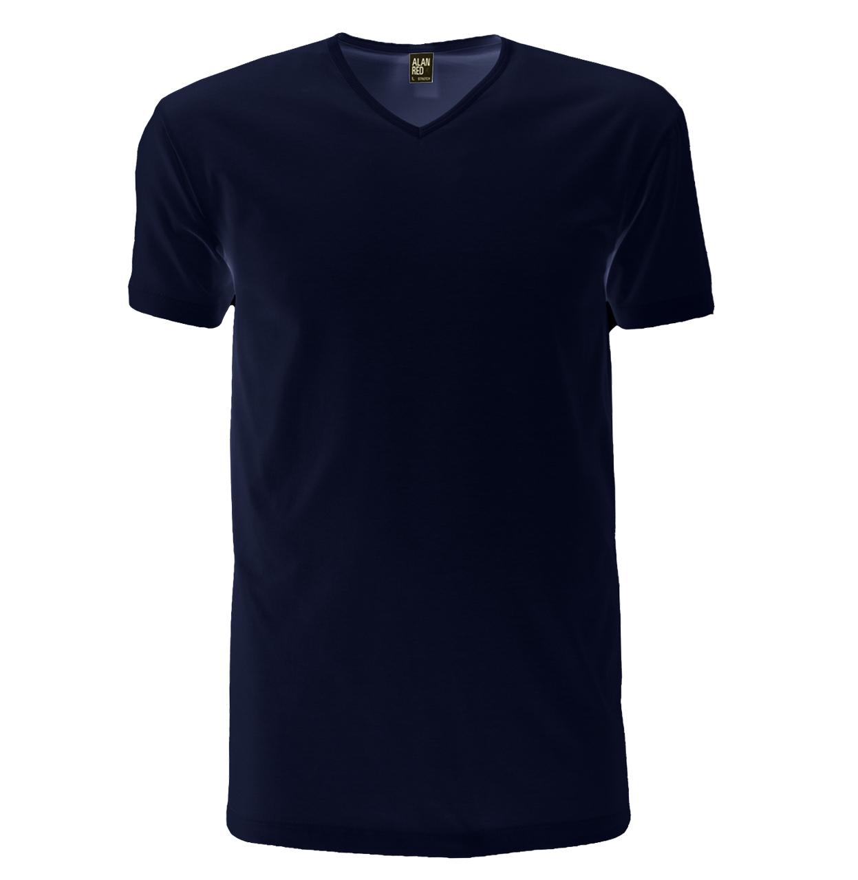 Alan Red T-shirt OKLAHOMA 1-PACK 06 OKLAHOMA 1-PACK marine Maat L