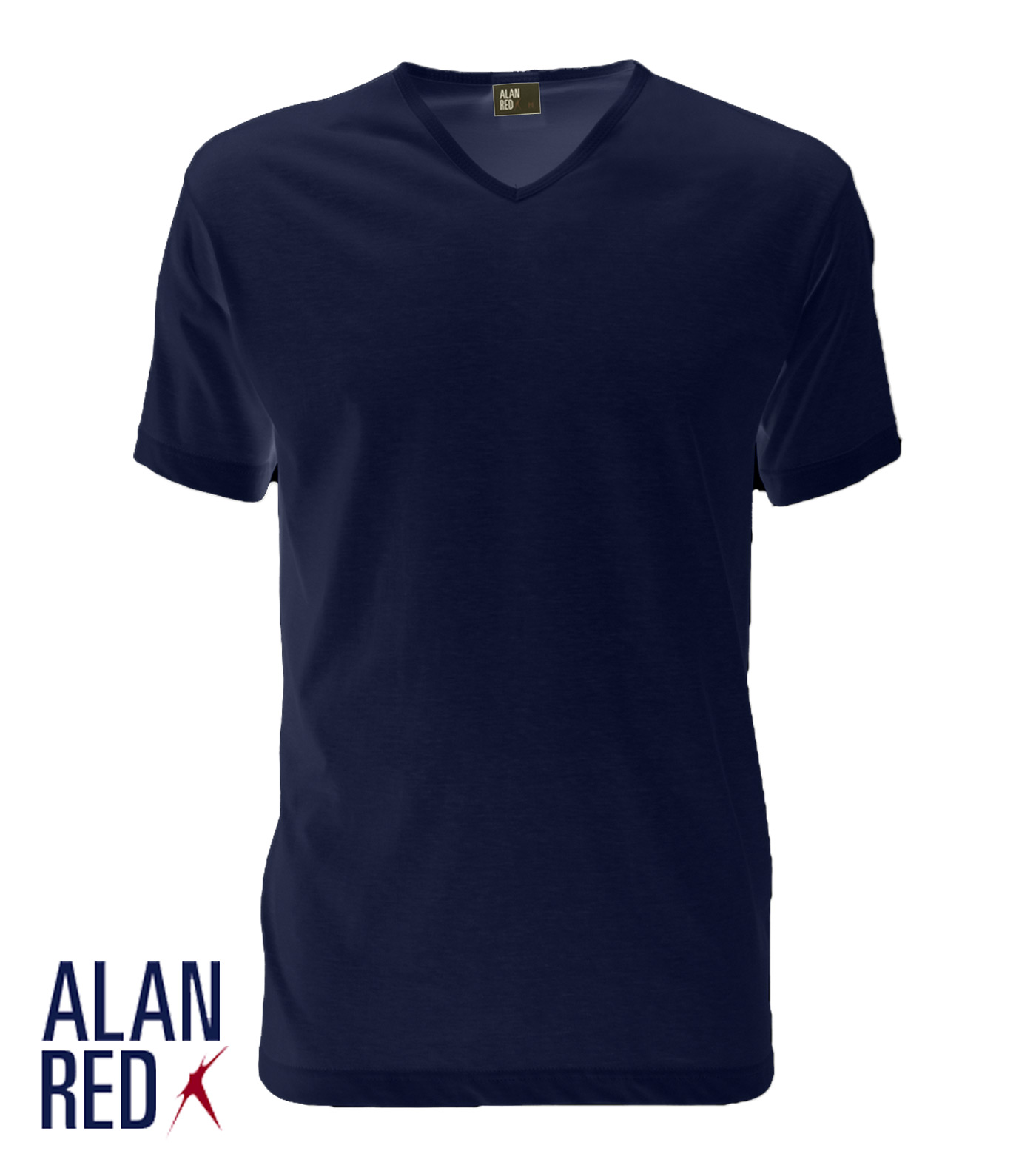 Alan Red T-shirt VERMONT 1-PACK VERMONT 1-PACK marine Maat L