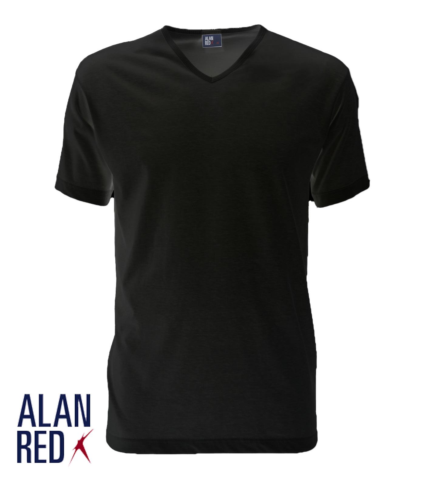 Alan Red T-shirt VERMONT 1-PACK VERMONT 1-PACK zwart Maat S