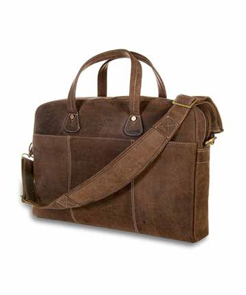 BAG COW LEATHER BROWN