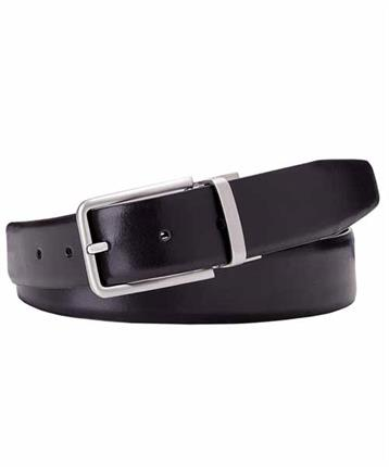 BELT DOUBLE FACE BLCK-MORO