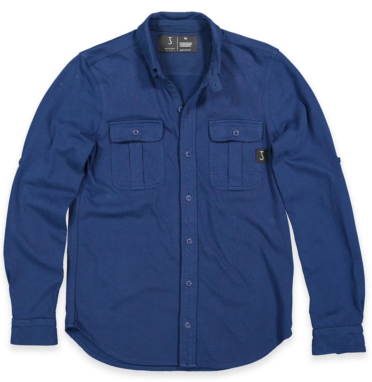 Butcher of Blue Shirt 1814000 870 1814000 blauw Maat L