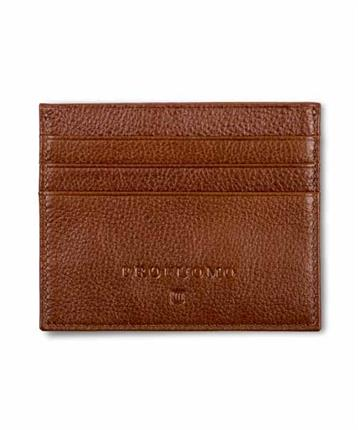CARD WALLET COGNAC