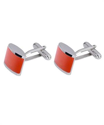 CUFFLINK ORANGE CATSEYE