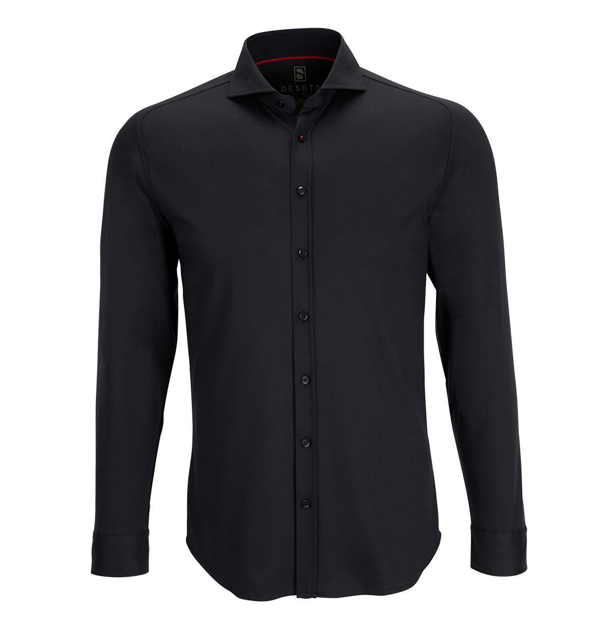 Desoto Shirt 21008 081 21008 zwart Maat XXL