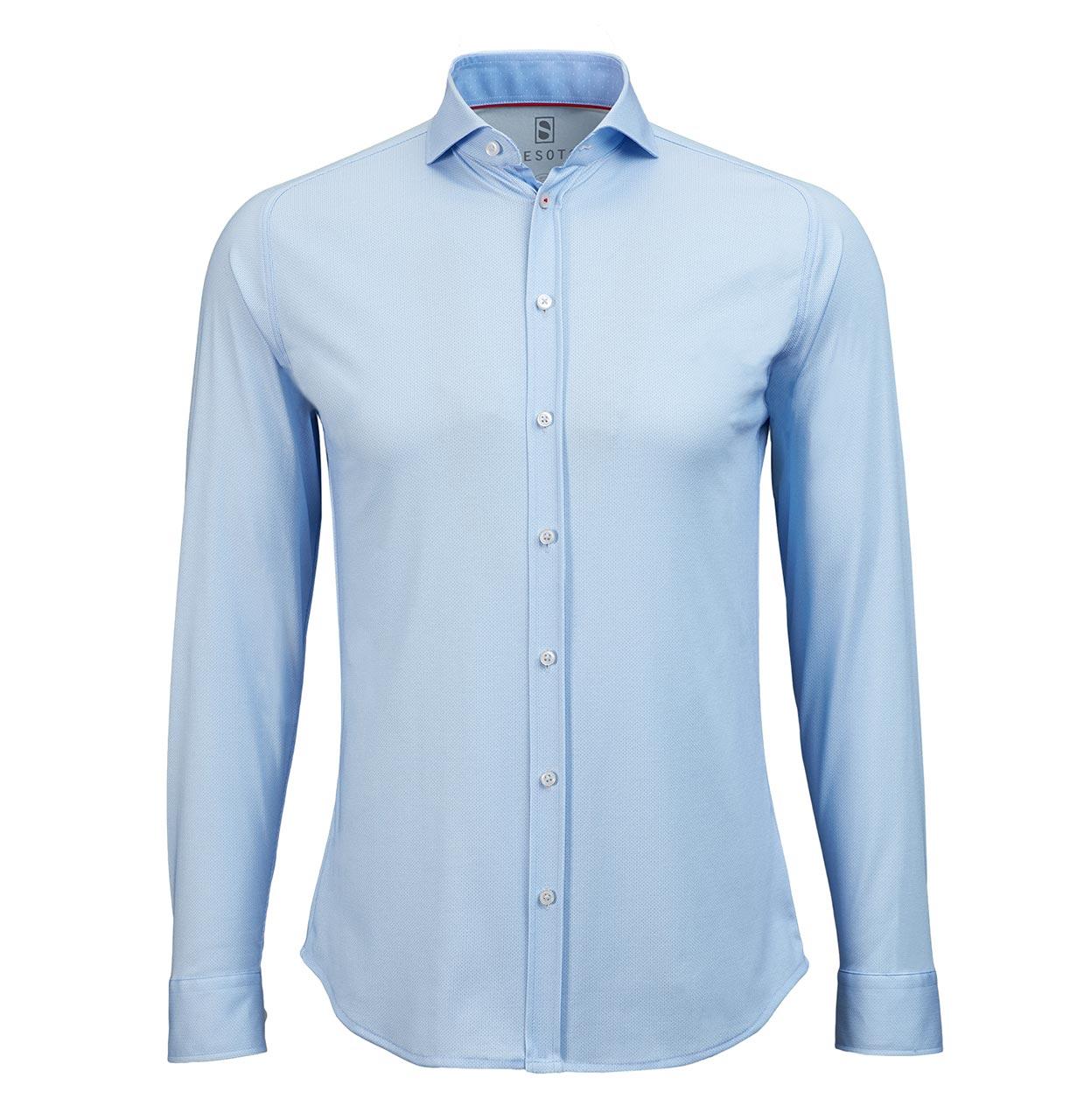 Desoto Shirt 50008 051 50008 blauw Maat M