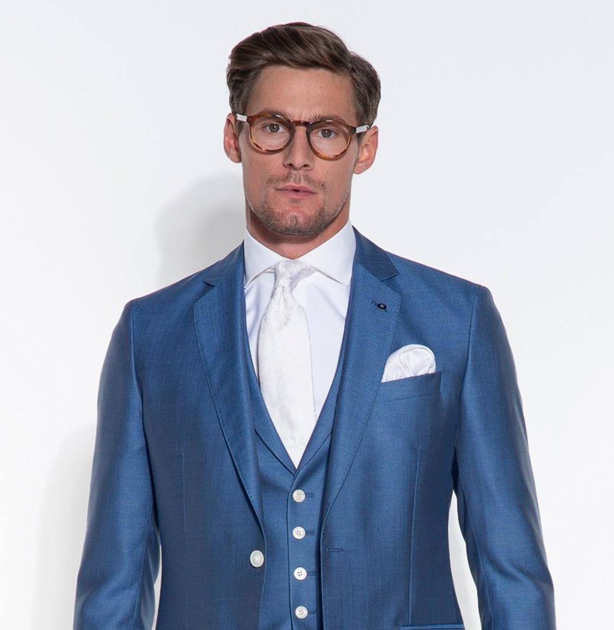 Dutch Dandies Trouwkostuum 044298 300 Blauw 044298 blauw Maat 46