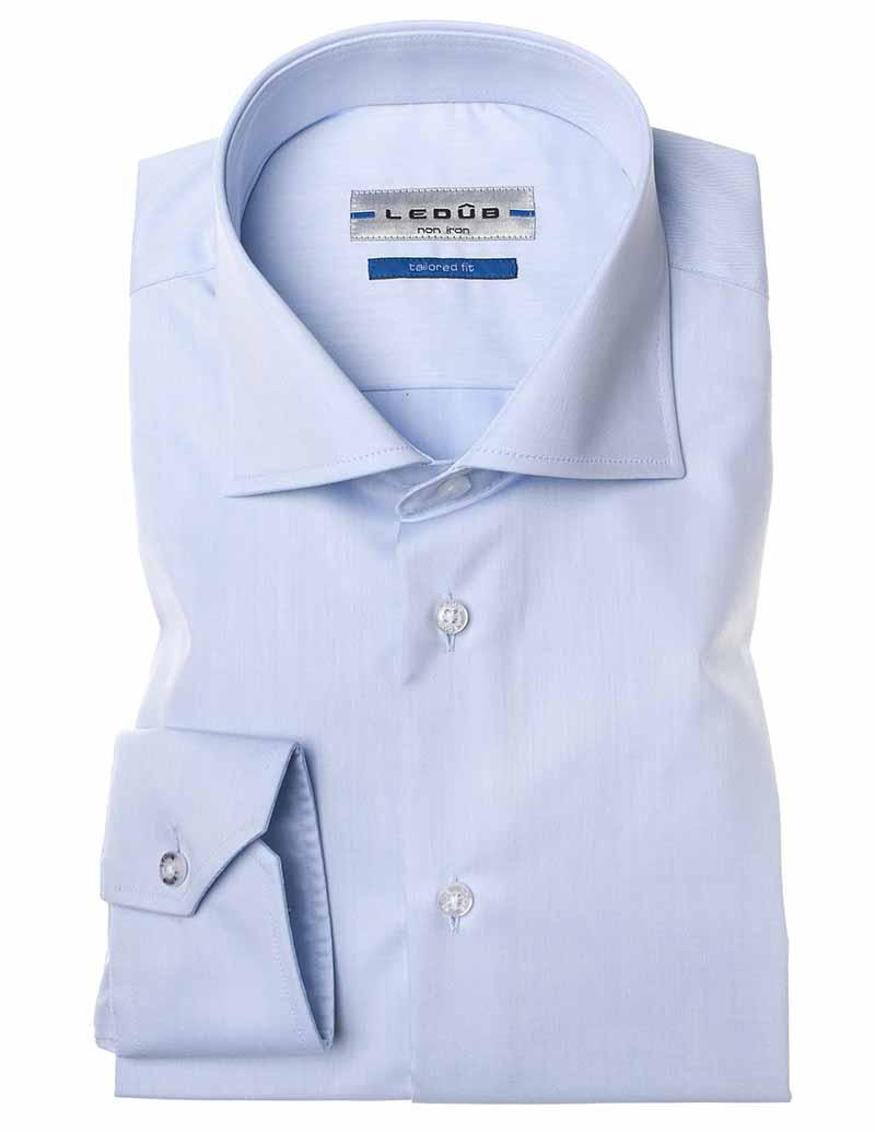 Ledub Shirt 0033728 910000 Spierwit 0033728 wit Maat 43