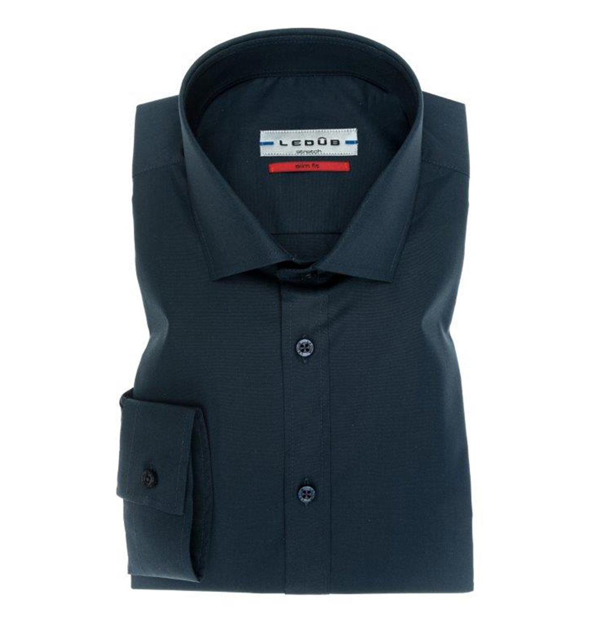 Ledub Shirt 0042510 190000 Donkerblauw 190 0042510 bleu Maat 41