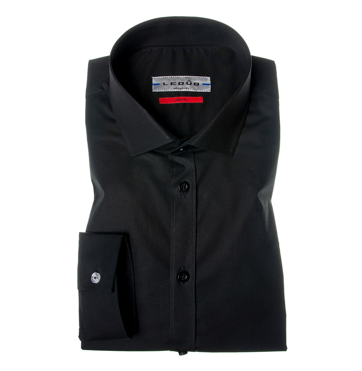 Ledub Shirt 0042510 290000 Zwart 290 0042510 zwart Maat 41