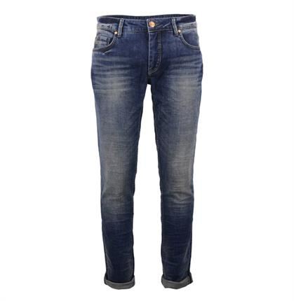 No Excess N710D0932 228 Stone Used Denim