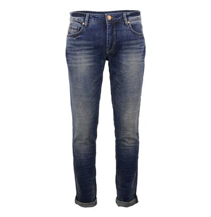No Excess N710D0934 228 Stone Used Denim