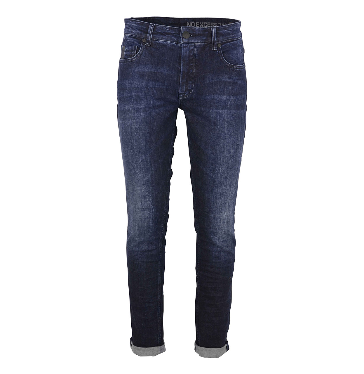 No Excess Jeans N710D1532 228 Stone Used N710D1532 blauw Maat 29