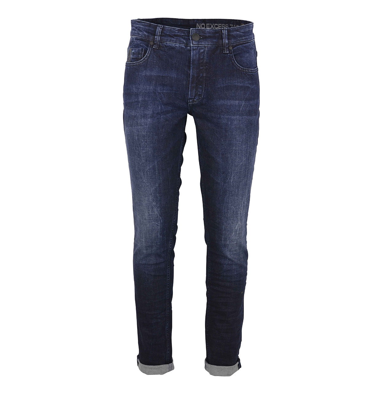 No Excess Jeans N710D1534 228 Stone Used N710D1534 blauw Maat 31