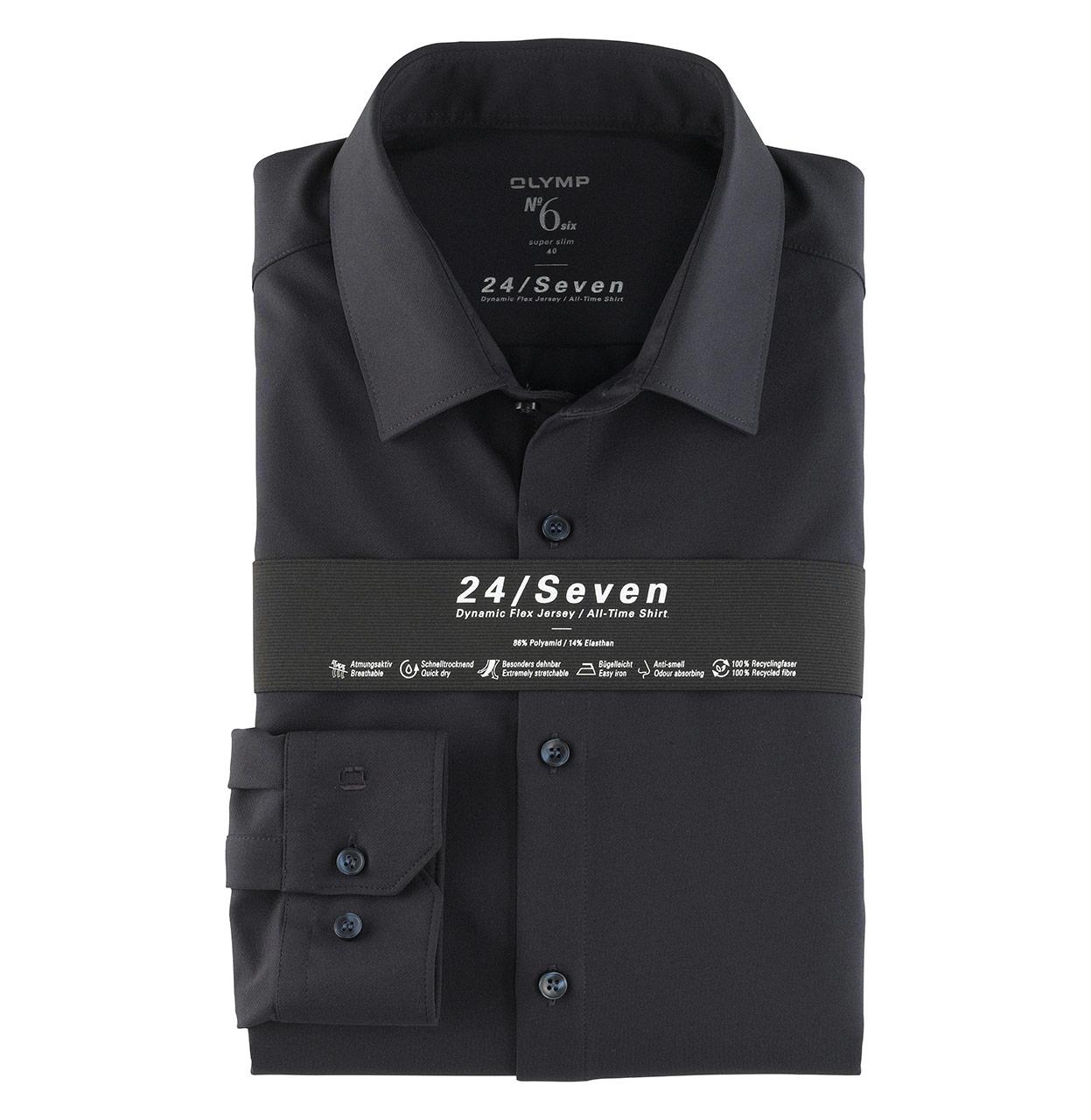 OLYMP Shirt 251264 18 1 251264 marine Maat 37