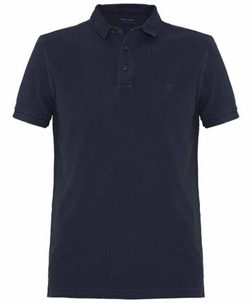 POLO GARMENT DYED NAVY