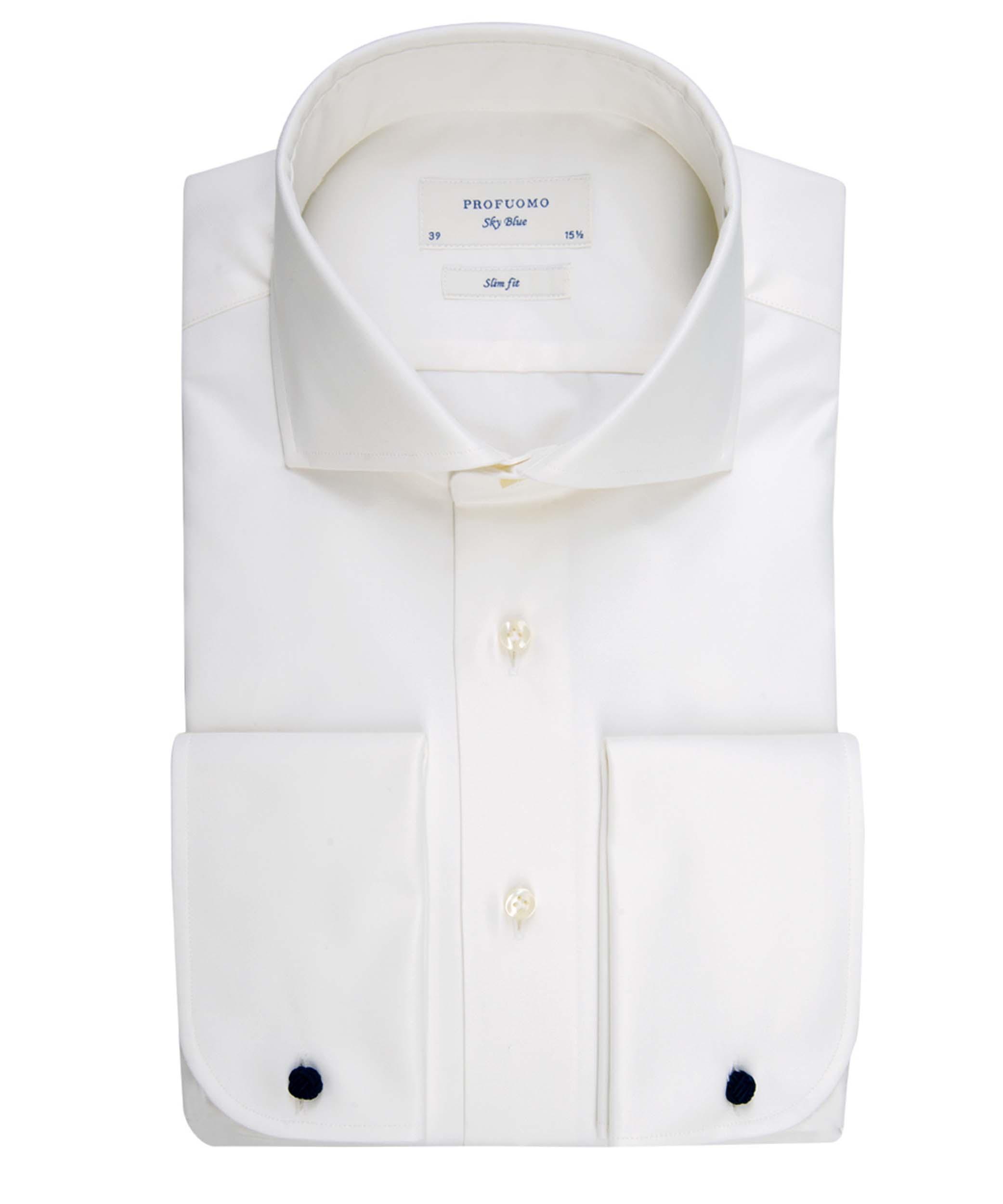 Profuomo Shirt PP0H0C002 E PP0H0C002 ecru Maat 44