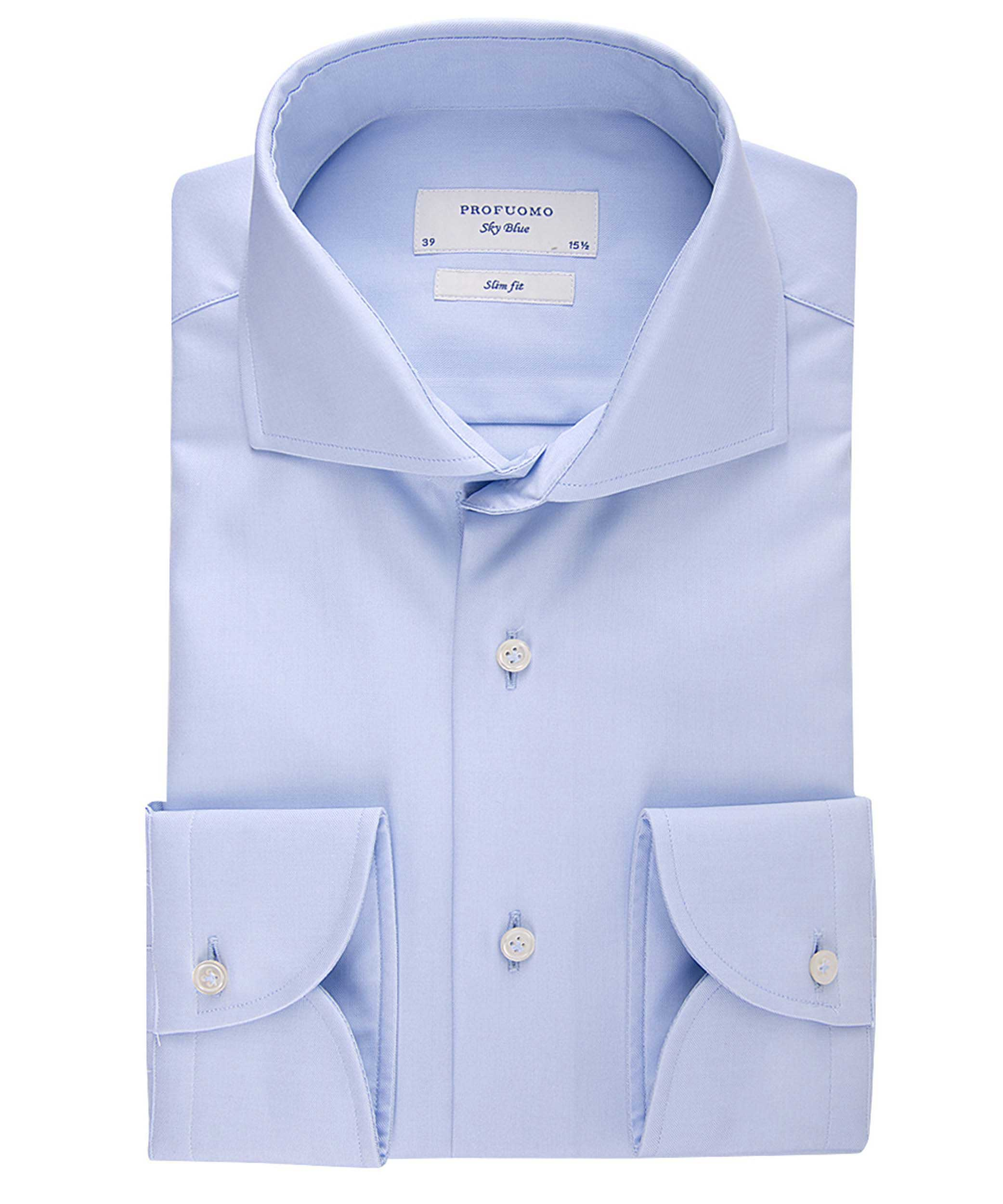 Profuomo Shirt PP2HC0011 M PP2HC0011 blauw Maat 44