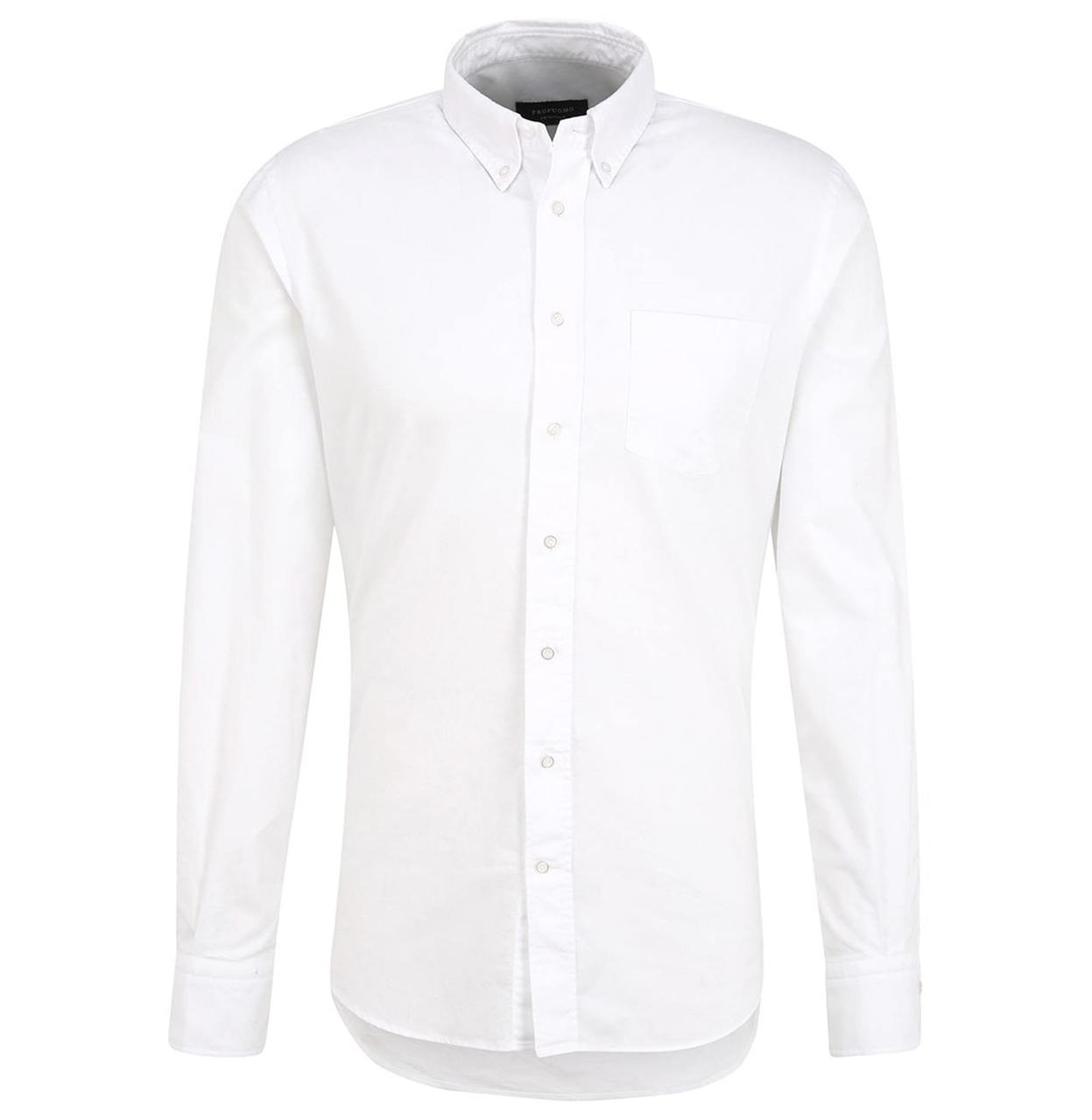 Profuomo Shirt PPSH1A1056 2 PPSH1A1056 wit Maat EEL