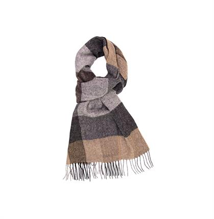 SCARF BEIGE CHECK