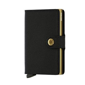 Secrid Wallets MINIWALLET MC-Black-gold