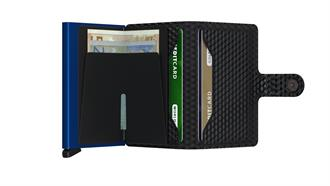 Secrid Wallets MINIWALLET MCU-Black-Blue