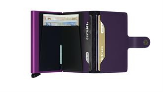 Secrid Wallets MINIWALLET MM-Purple