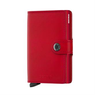 Secrid Wallets MINIWALLET MO-Red