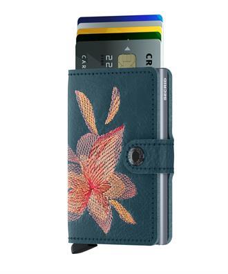 Secrid Wallets MINIWALLET MSt-Magnolia Petrolio