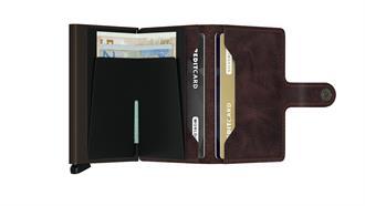 Secrid Wallets MINIWALLET MV-Chocolate