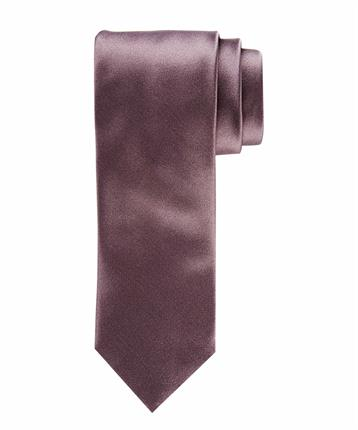 TIE SILK WOVEN TAUPE